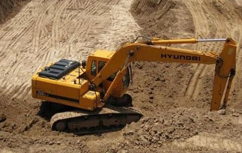 二手挖机设备