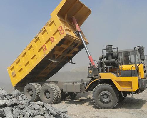 非公路矿用自卸车视频